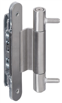 Architectural door hinge, VN 3747/160 Compact, Simonswerk, for flush doors