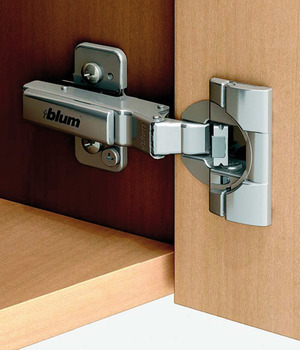 Concealed hinge, Clip Top Blumotion 110°, for –20°–10° corner applications
