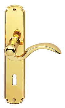 Door Handle Set, Brass, Jado, Schönbrunn 901/951   V Obchodě Häfele ...