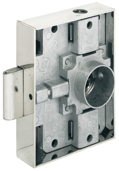 Espagnolette lock, Heavylock, with cylinder removable core, backset 40 mm