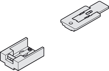 Interlocking hold open insert , for guide rail from the TS 91, TS 92, TS 93 and TS 93 GSR range