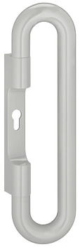 Lever handle,Hewi, For escape routes and panic areas, Polyamide, Oval