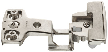 Architectural hinge, for side panel thickness 19 mm