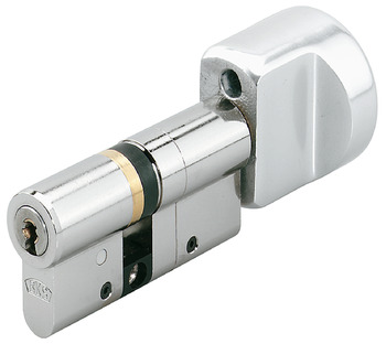 Thumbturn cylinder, secured individual locking, 45 Janus series, BKS