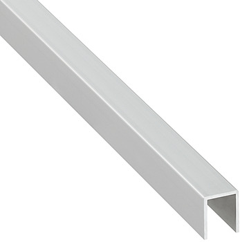 U-profile, Aluminium, for panel thickness 19 mm